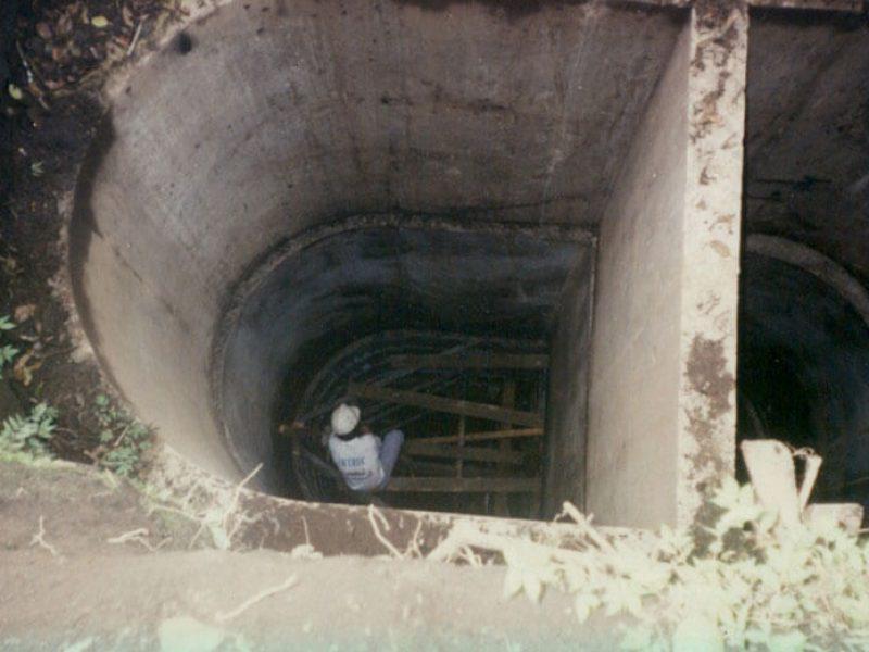 Construcción de túneles en Madreselva El Salvador